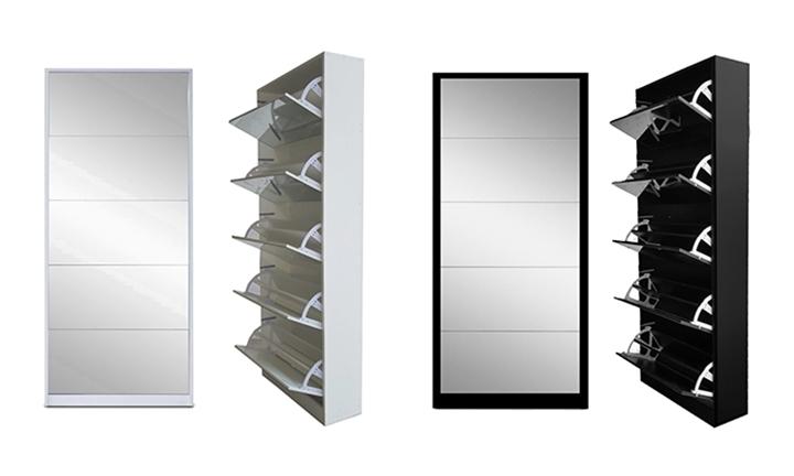 Pleasant Hyperli 5 Door Mirror Shoe Cabinet For R1799 Download Free Architecture Designs Grimeyleaguecom