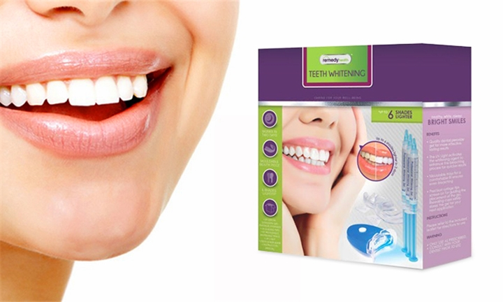 Hyperli Remedy Health Professional Teeth Whitening Home Kit For R199