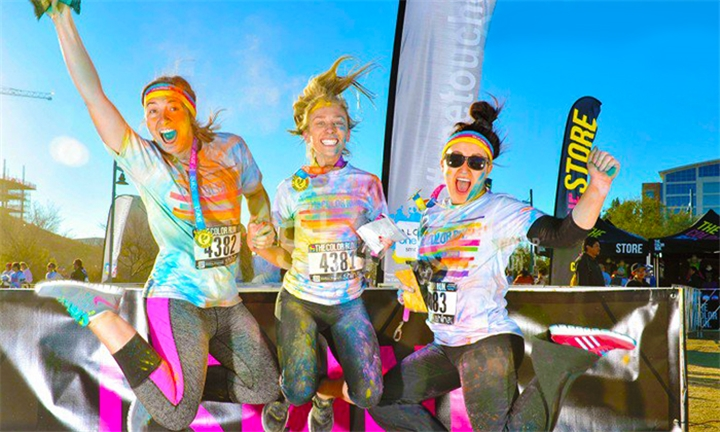 The Color Run South Africa raised over R, in for local causes and educational based initiatives in the areas we visit. We're looking to increase that in ! We've been about doing good and having fun ever since we started!