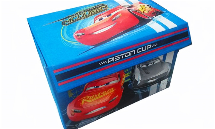 Disney Cars Collapsible Fabric Toy Box for R299 482194f4f2e