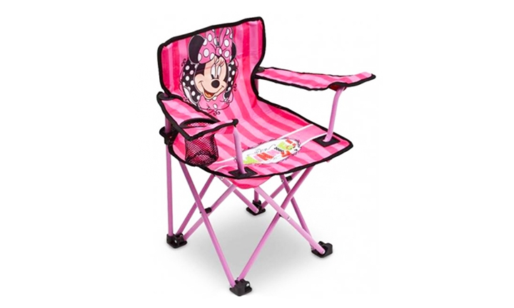 Amazing Hyperli Disney Minnie Mouse Camp Chair For R175 Customarchery Wood Chair Design Ideas Customarcherynet