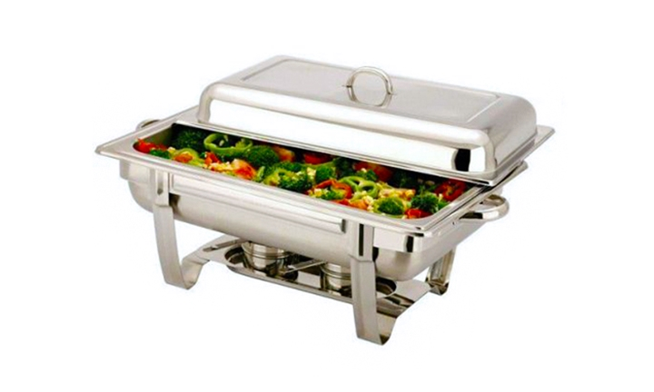 chafing dish warmer hyperli stainless steel 11 liter single tray chafing 2074