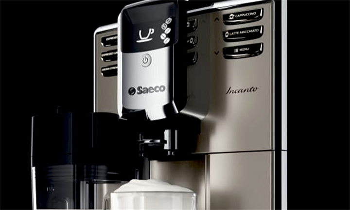 Кофемашина инканто показывает точки