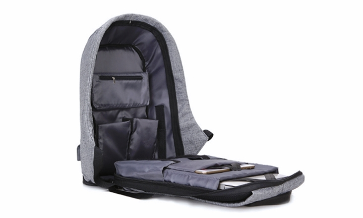 Anti-Theft Backpack with USB Charger for R669. This deal is no longer  available. 83aae07ae4c96