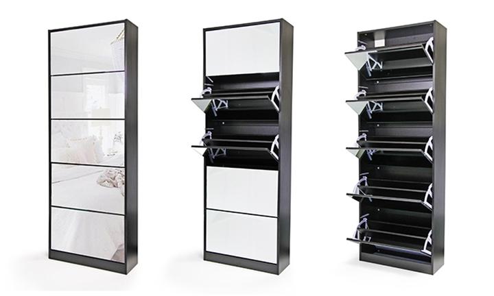 Phenomenal Hyperli Fine Living Mirror Shoe Cabinet From R1299 Download Free Architecture Designs Grimeyleaguecom