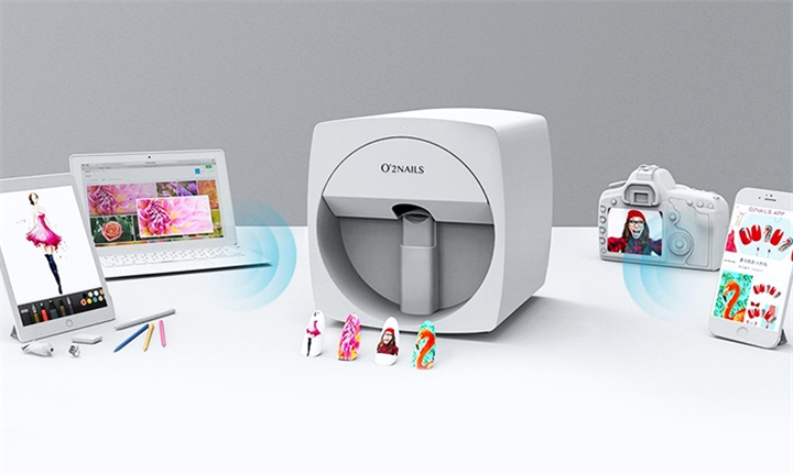 O2NAILS Mobile Nail Printer Including 30 Day Free Cover For R11999