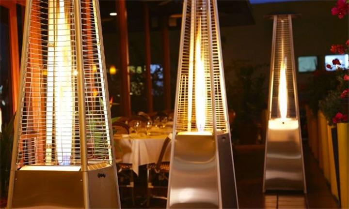 Charming Pyramid Designer Patio Gas Heater For R3499