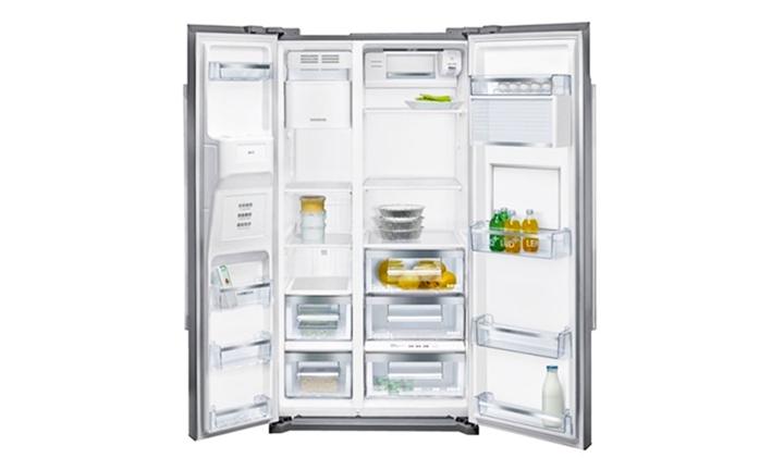 Hyperli Siemens Iq700 Side By Side Fridge Freezer Stainless Steel