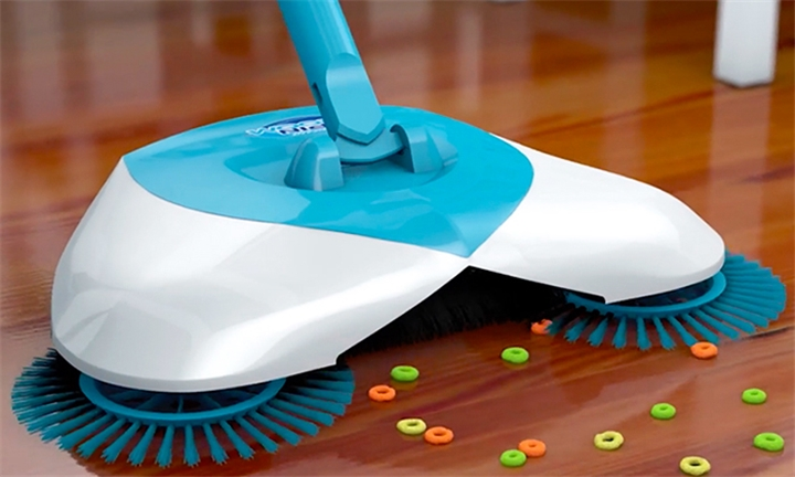 Hyperli | Hurricane Spin Broom with Automatic Hand Sweeper for R149