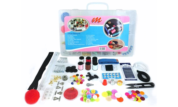 Hyperli Mini Home Sewing Machine MIB 40Piece Sewing Kit For R40 Enchanting Sewing Kit For Sewing Machine