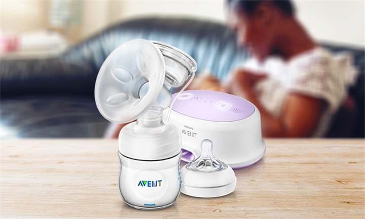 Hyperli Avent Natural Single Electric Breast Pump For R1699