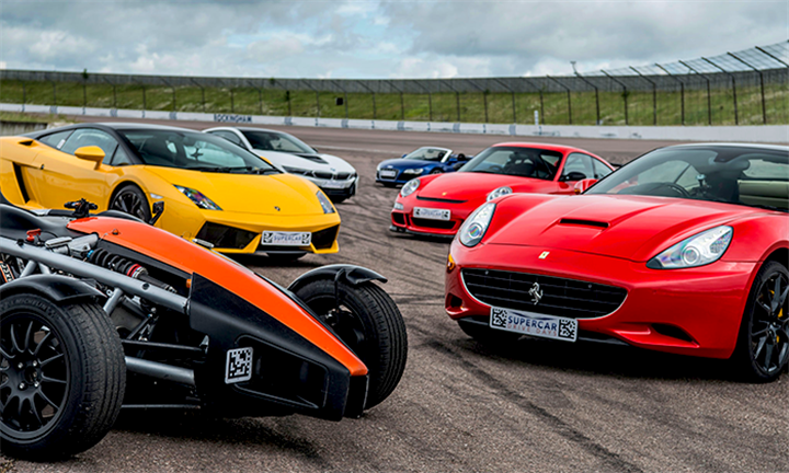 Hyperli | Special: Supercar Driving Experience with Gift Experience South Africa