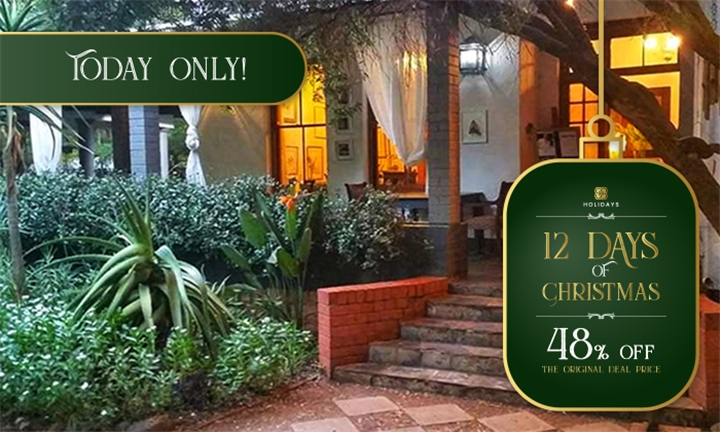 Magaliesburg: 1-Night Anytime Stay for Two Including Breakfast & 3-Course Meal at Die Ou Pastorie