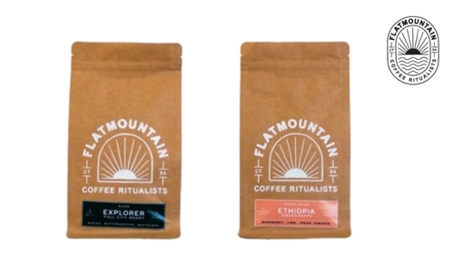 1kg or 5kg Blend Coffee Delivered to your Door from Flatmountain Coffee Roasters