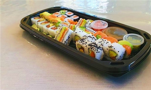 Delivery or Pick-Up: 24 or 36-Piece Sushi Platter from Sushi Central