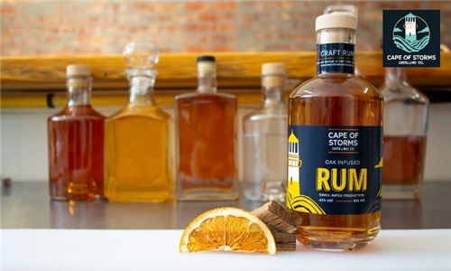 Pick-Up or Delivery: 1 x Bottle of Oak Infused Rum from Cape of Storms Distilling Company