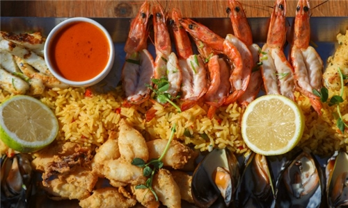 Sit-Down or Pick-Up: San Marco Seafood Platter from San Marco, V&A Waterfront